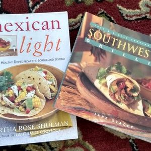 Other - 2 Cookbooks: Southwest Grilling & Mexican